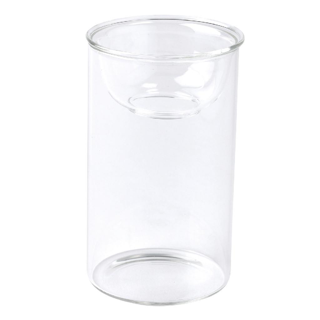 SPICE OF LIFE MINI BULB VASE 水栽培ガラスベース クリア 11cm
