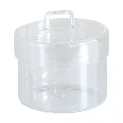 SPICE OF LIFE LABO GLASS ふた付きガラスキャニスター クリア Sサイズ