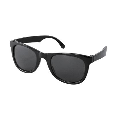 SPICE UVカットキッズファッショングラス スクエア ブラック