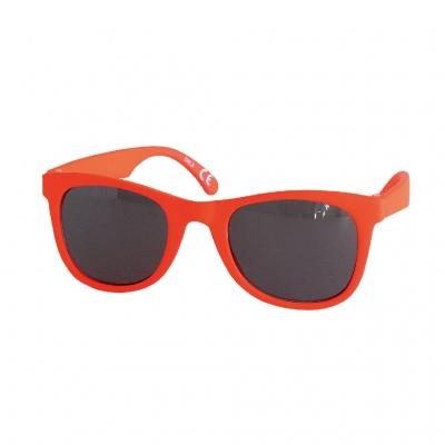 SPICE UVカットキッズファッショングラス スクエア ネオンオレンジ