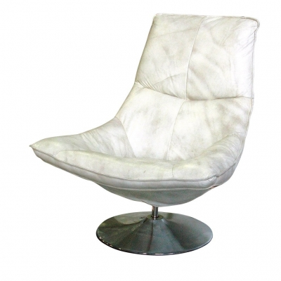 CAMDEN SWIVEL CHAIR WHITE