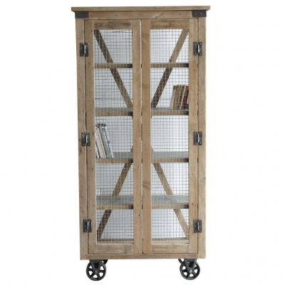 TROLLEY GRILL CABINET