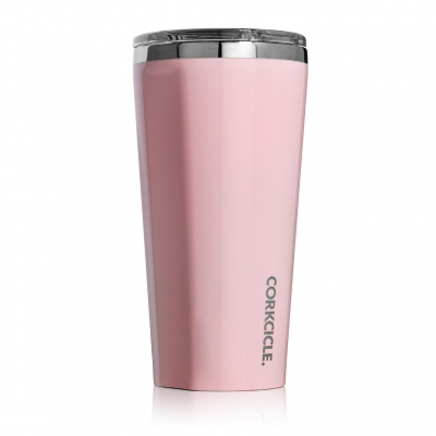 CORKCICLE TUMBLER Rose Quartz 16oz