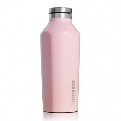 CORKCICLE CANTEEN Rose Quartz 9oz
