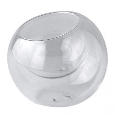 SPICE OF LIFE LABO GLASS ガラスダブルウォールラウンドドーム クリア Mサイズ