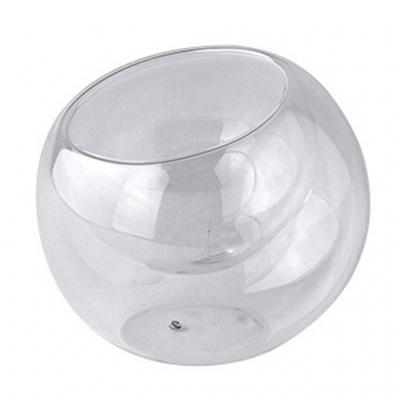 SPICE OF LIFE LABO GLASS ガラスダブルウォールラウンドドーム クリア Sサイズ