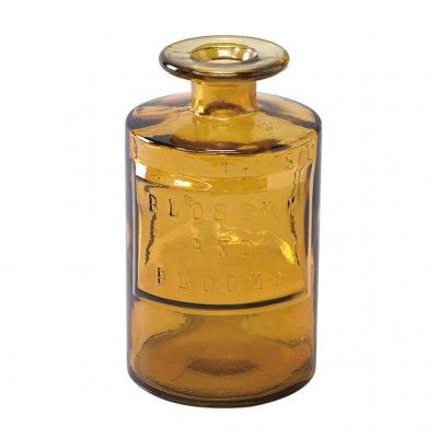 SPICE OF LIFE VALENCIA リサイクルガラスフラワーベース SIETE アンバー