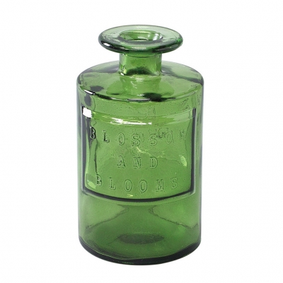 SPICE OF LIFE VALENCIA リサイクルガラスフラワーベース SIETE グリーン
