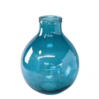 SPICE OF LIFE VALENCIA リサイクルガラスフラワーベース TRES ブルー