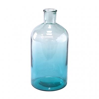 SPICE OF LIFE VALENCIA リサイクルガラスフラワーベース TRECE スカイブルー