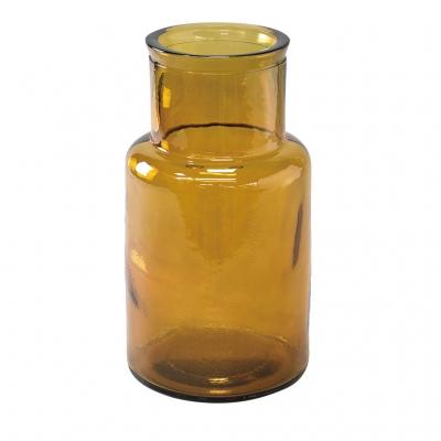 SPICE OF LIFE VALENCIA リサイクルガラスフラワーベース SEIS アンバー