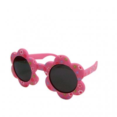 SPICE OF LIFE UVカットキッズファッショングラス フラワー ピンク インファント(0~3才)