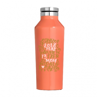 CORKCICLE THANKS MOM CANTEEN PEACH ECHO 9oz
