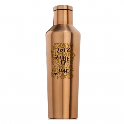 CORKCICLE THANKS DAD CANTEEN COPPER 16OZ
