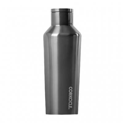 CORKCICLE METALLIC CANTEEN Gunmetal 9oz