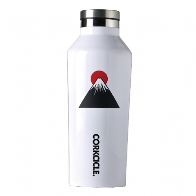 CORKCICLE FUJI CANTEEN White 9oz