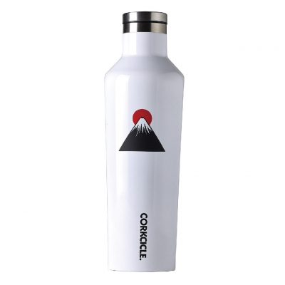CORKCICLE FUJI CANTEEN White 16oz