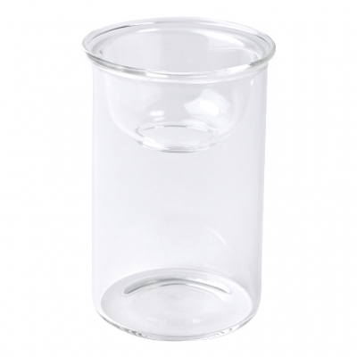 SPICE MINI BULB VASE 水栽培ガラスベース クリア 8.5cm