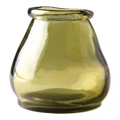 SPICE OF LIFE VALENCIA リサイクルガラス ミニフラワーベース CERO イエロー