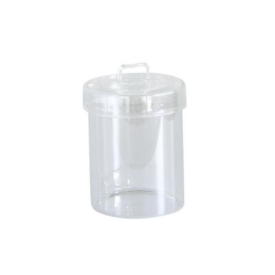 SPICE LABO GLASS ふた付きガラスキャニスター クリア Lサイズ