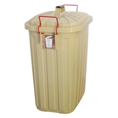 SPICE PALE×PAIL ふた付きゴミ箱 エクリュベージュ 60L