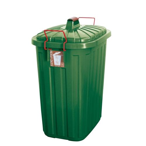 SPICE OF LIFE PALE×PAIL ふた付きゴミ箱 フォレストグリーン 60L