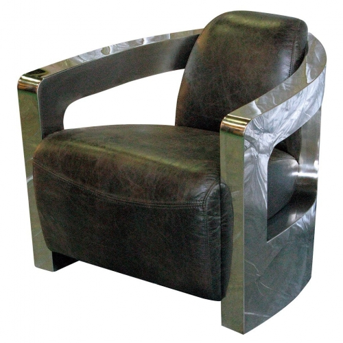 TROJAN ARMCHAIR BROWN