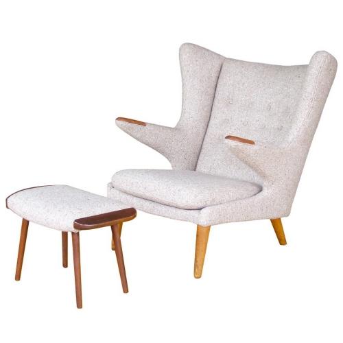 wegner style papa bear chair