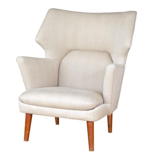 nice tan geometic chair