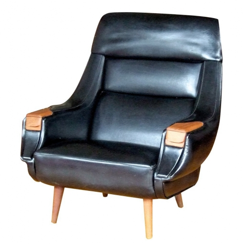 brown leather chrome office chair spice co ltd 株式会社スパイス