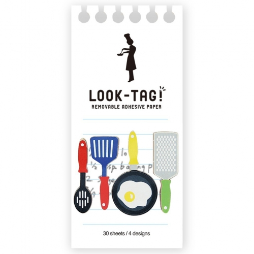 SPICE LOOK-TAG! デザイン付箋 クッキング