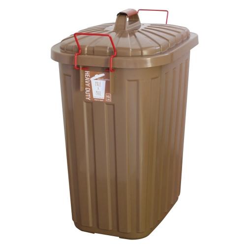 SPICE OF LIFE PALE×PAIL ふた付きゴミ箱 ブラウン 60L