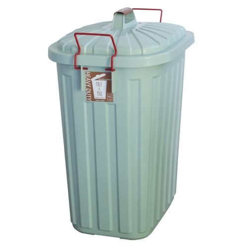 SPICE OF LIFE PALE×PAIL ふた付きゴミ箱 ブルーグレー 60L