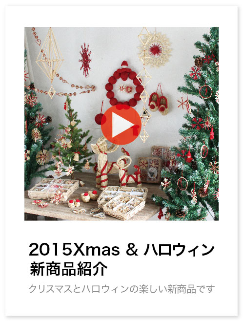 033-15XMAS新商品紹介